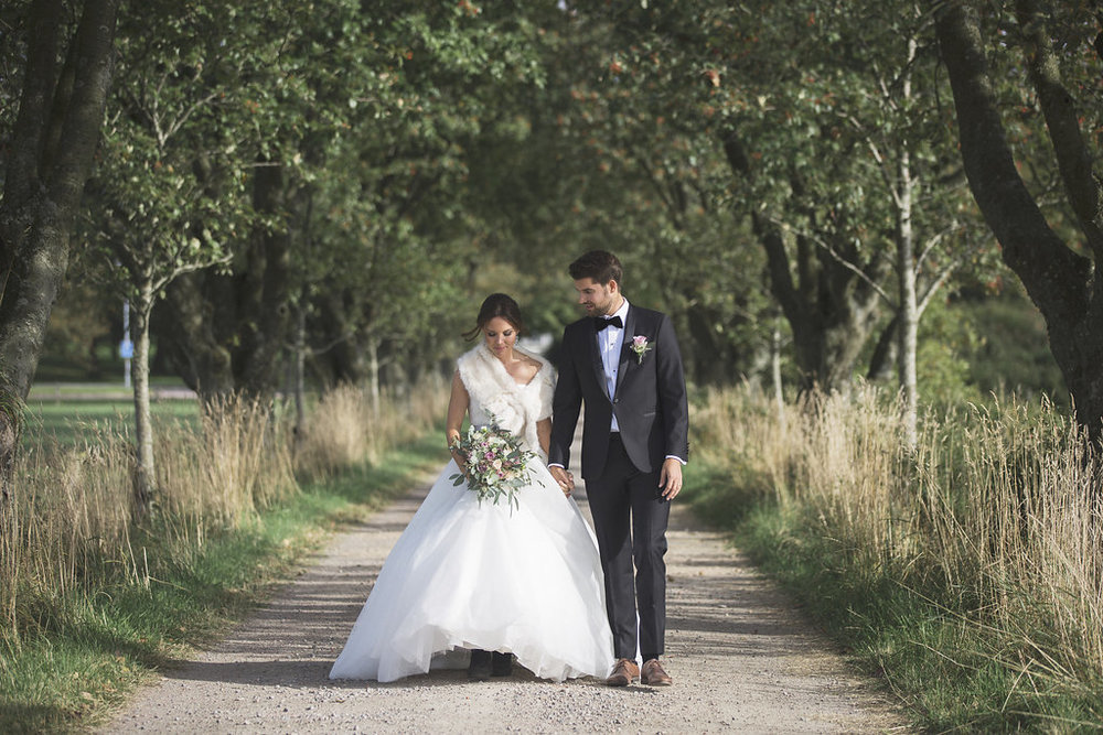 Charmigt slottsbröllop