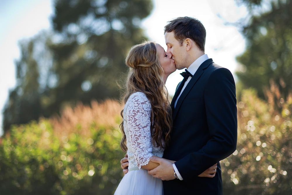Avskalat och personligt bröllop i Stockholms skärgård