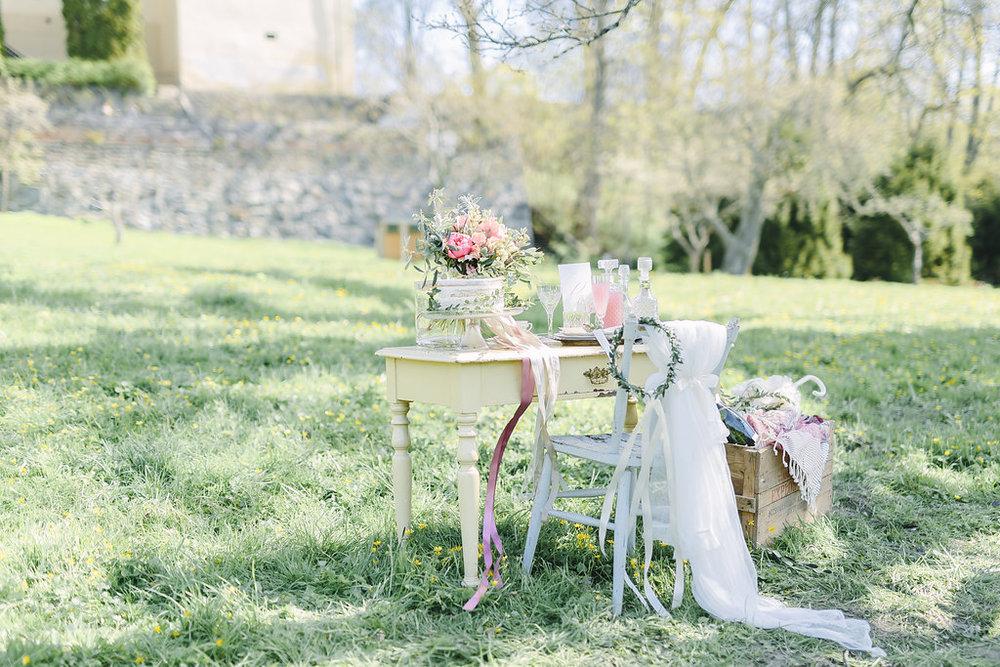 Romantisk fotografering på Tyresö Slott - del 1