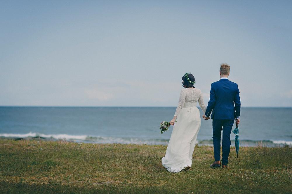 Intimt bröllop på Österlen