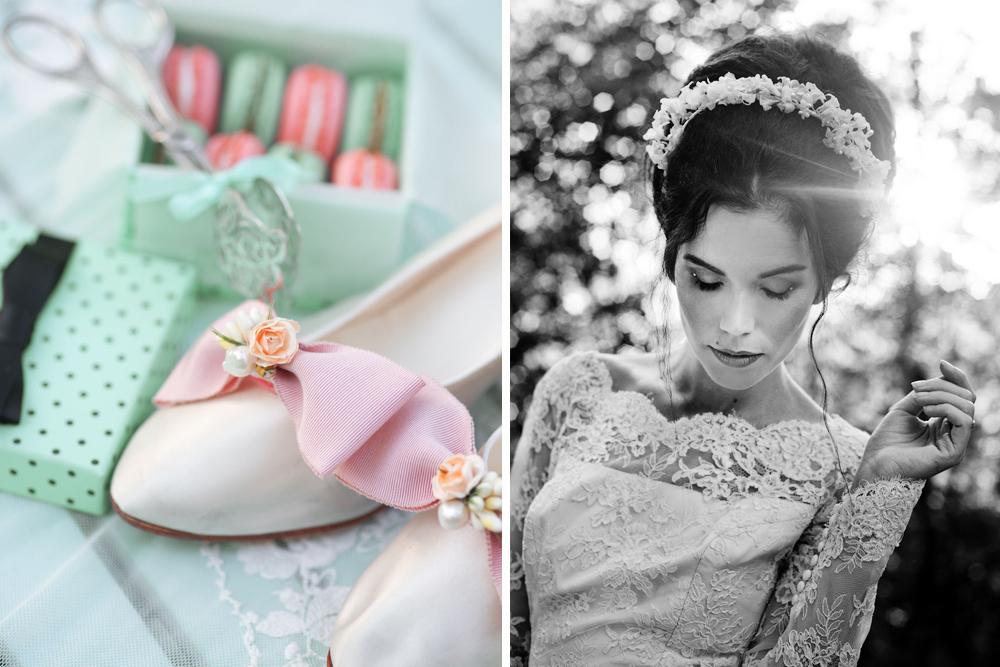 Inspirtionsfotografering: Vintagebröllop