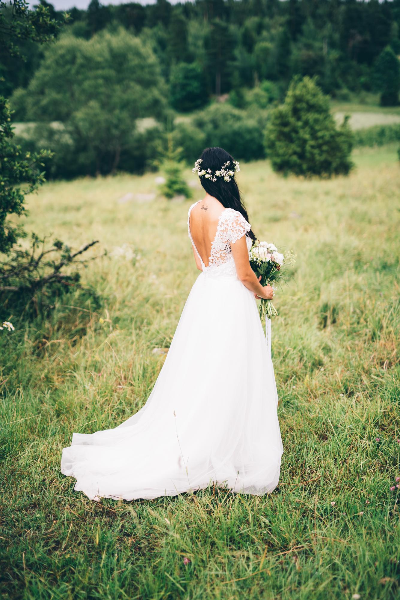 Brudklänningar, bröllopsklänningar och brudklädsel för