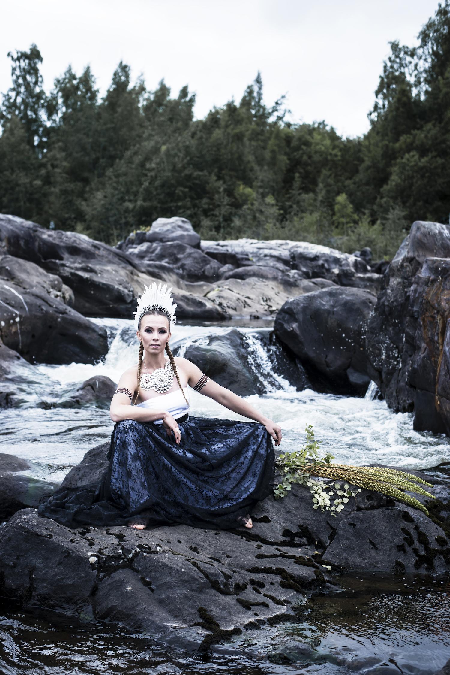 Bild från boken  Gift - Skapa ditt unika bröllop . Fotograf:  Thea Holmqvist