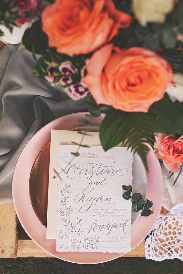 Bröllop+Blommor+Trycksaker