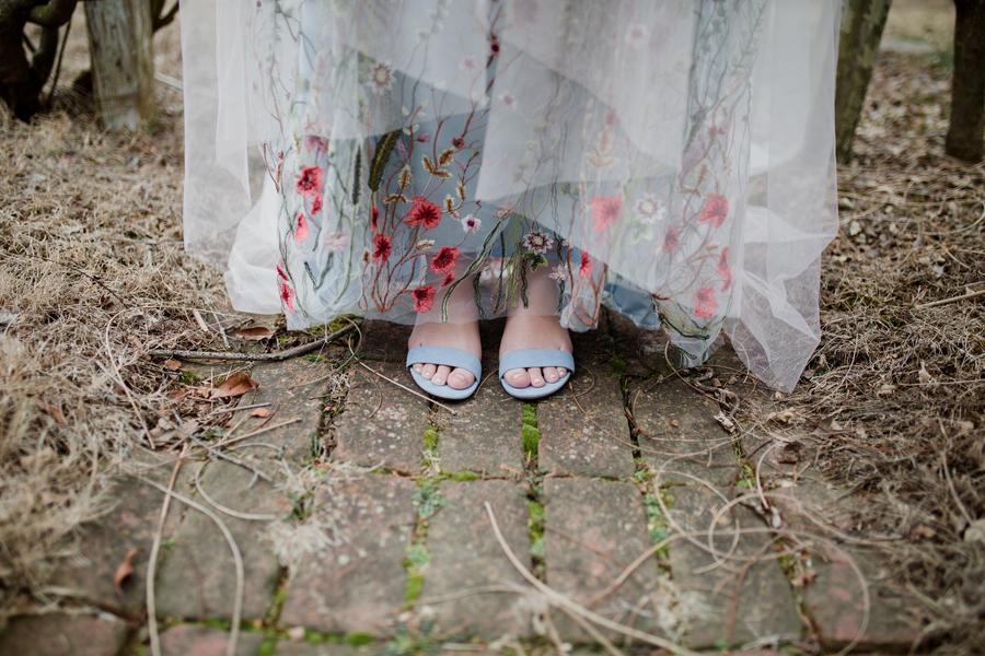 Bröllop+bröllopsklänning+skor