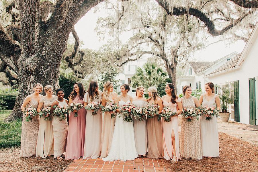 Bröllop+brudtärnor