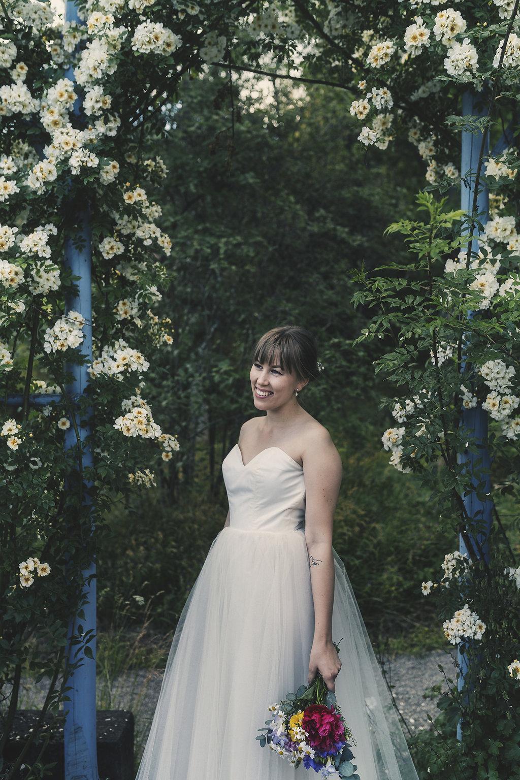 Elsa Billgren+Vintagebröllop+brudklänning