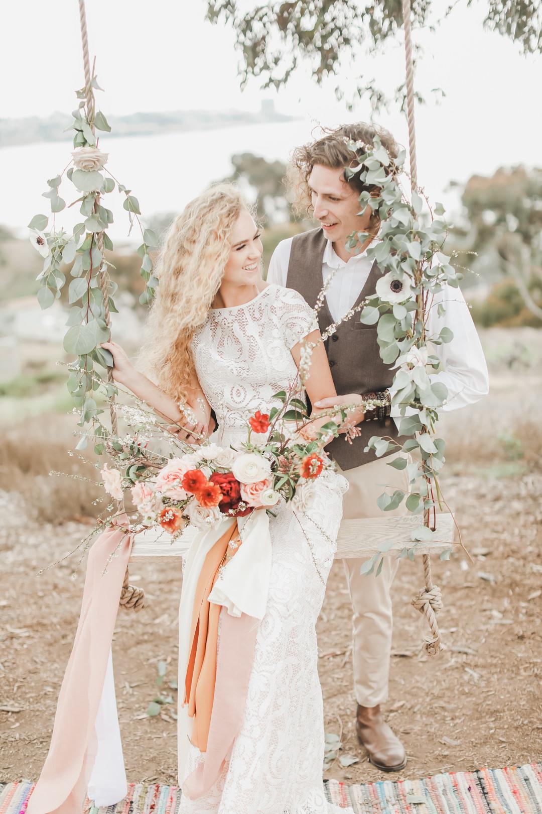 bröllop bohemiskt