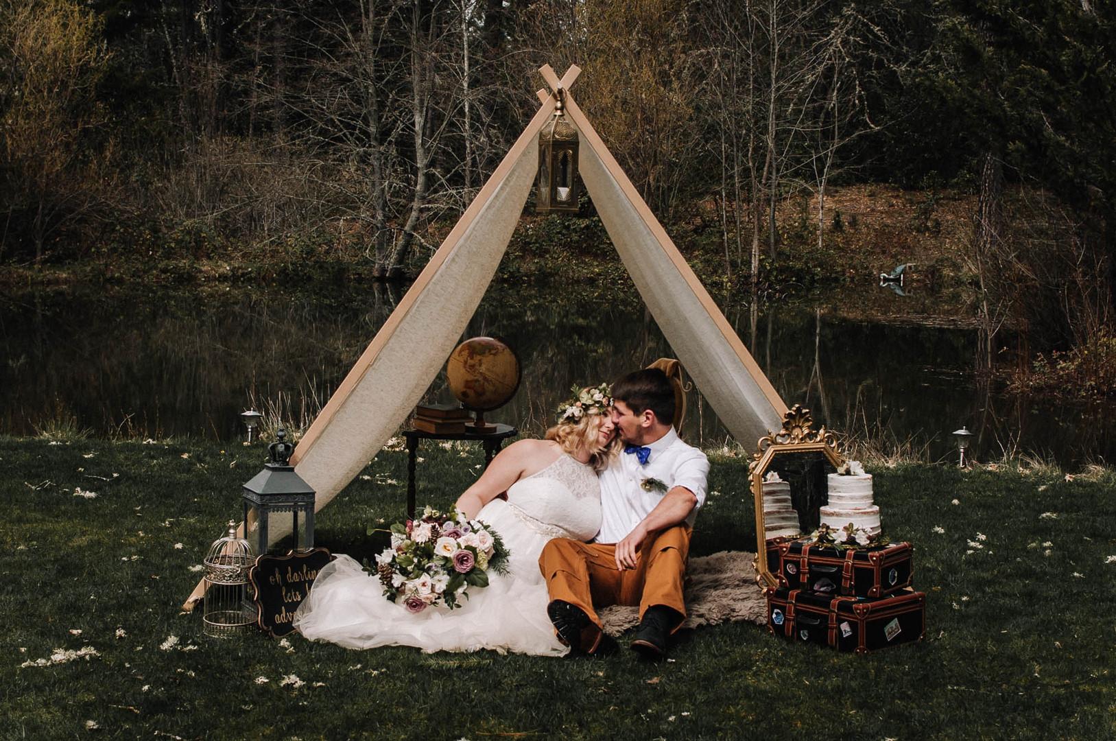 bröllop+elopement+bohemiskt+tält