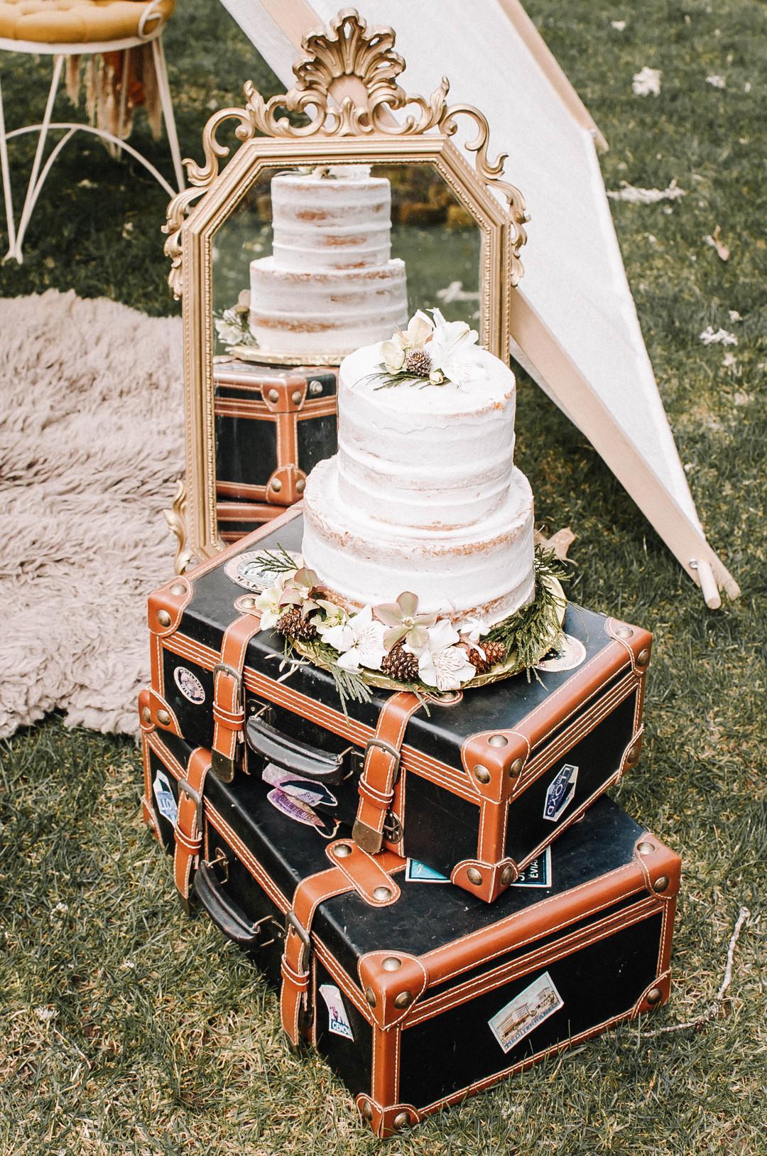 bröllop+elopement+bohemiskt+tårta