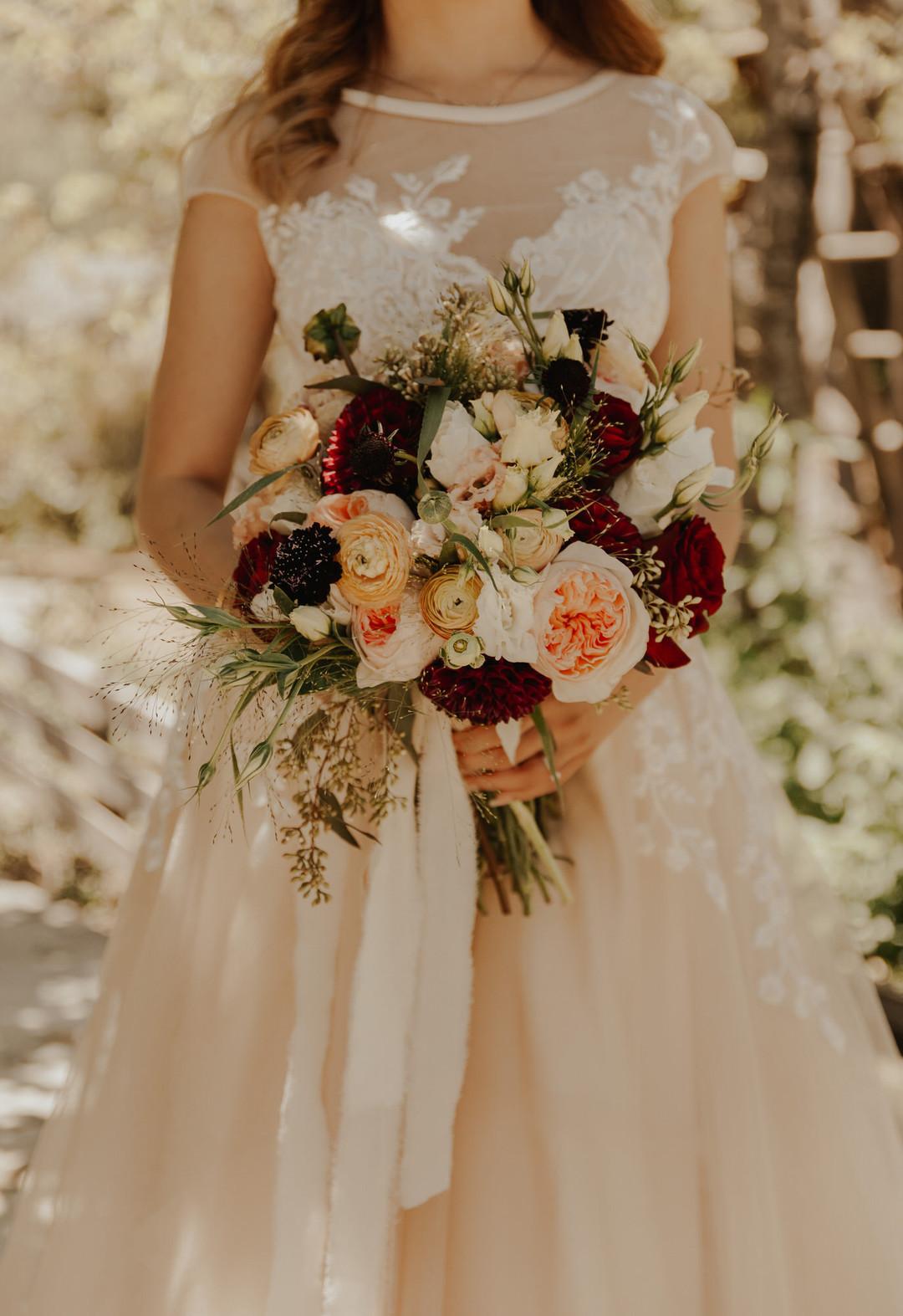 bröllop+romantiskt+lantligt+brudbukett