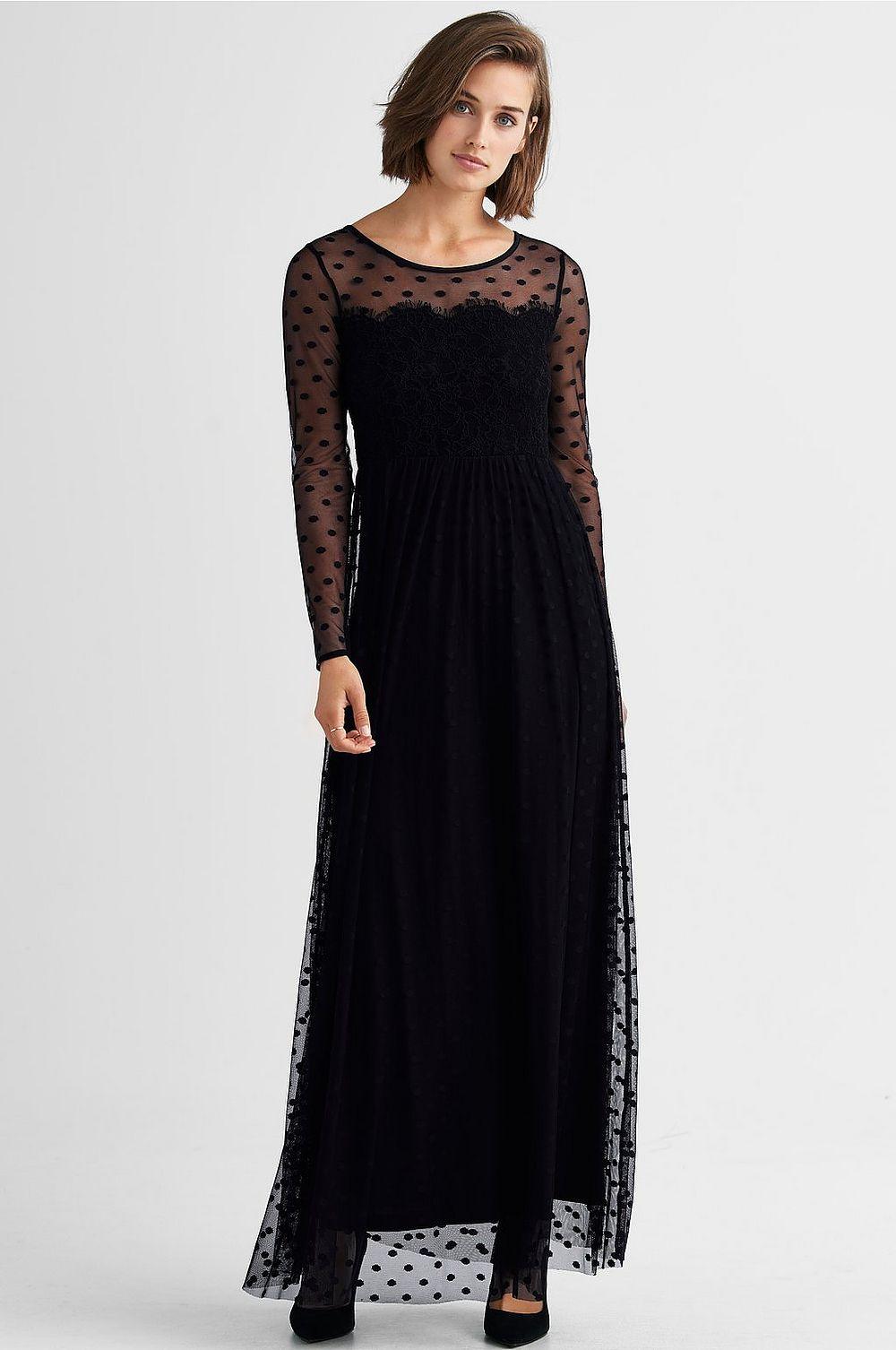 Svart klänning , Ellos