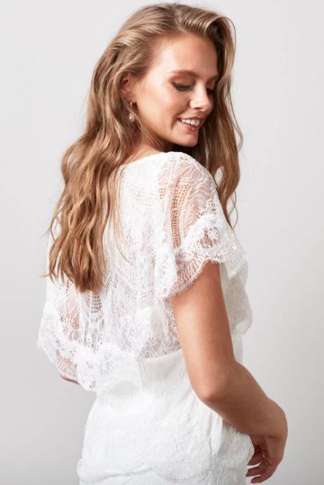 Bohemisk spetsklänning , By Malina