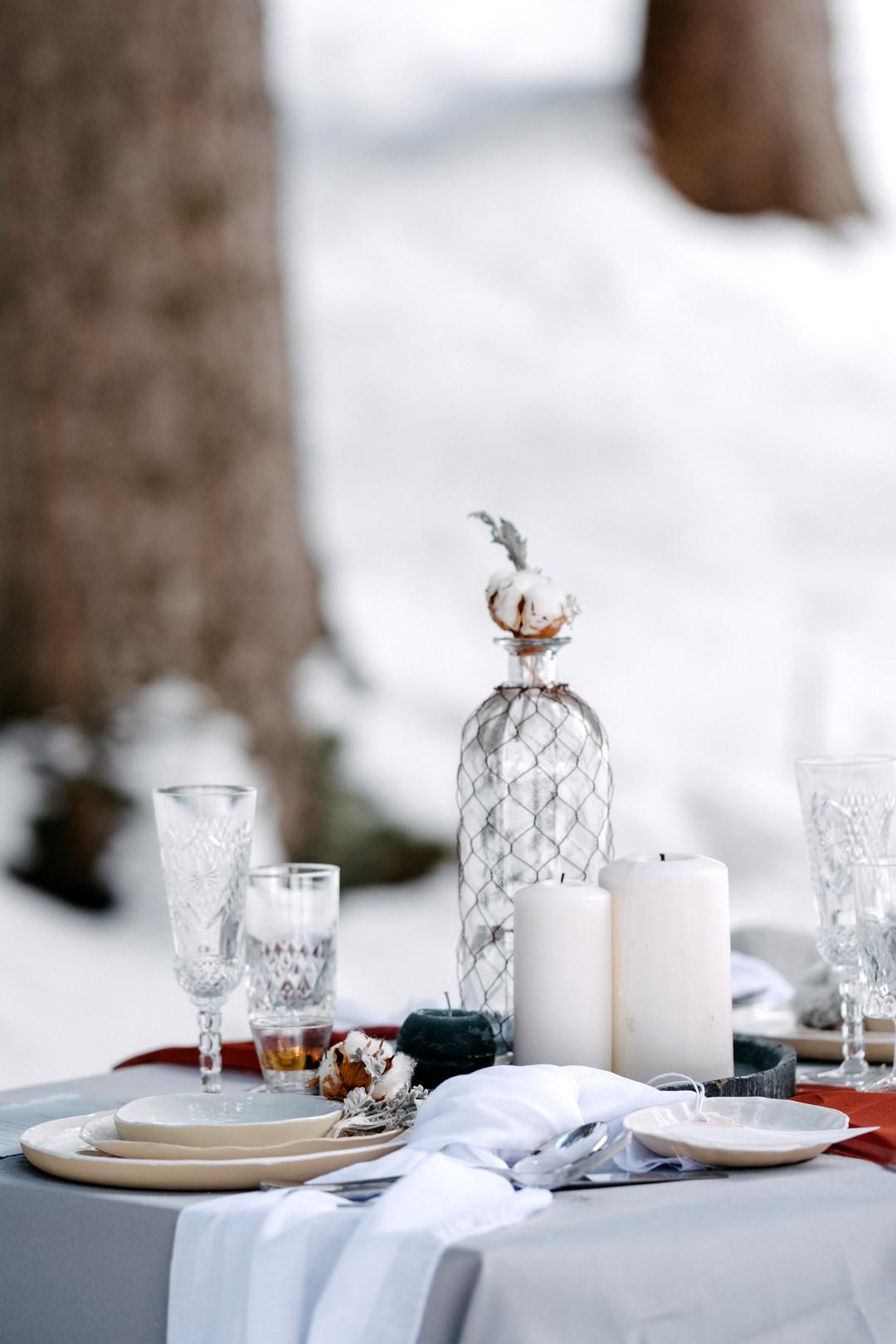 vinterbröllop+natur+dukning
