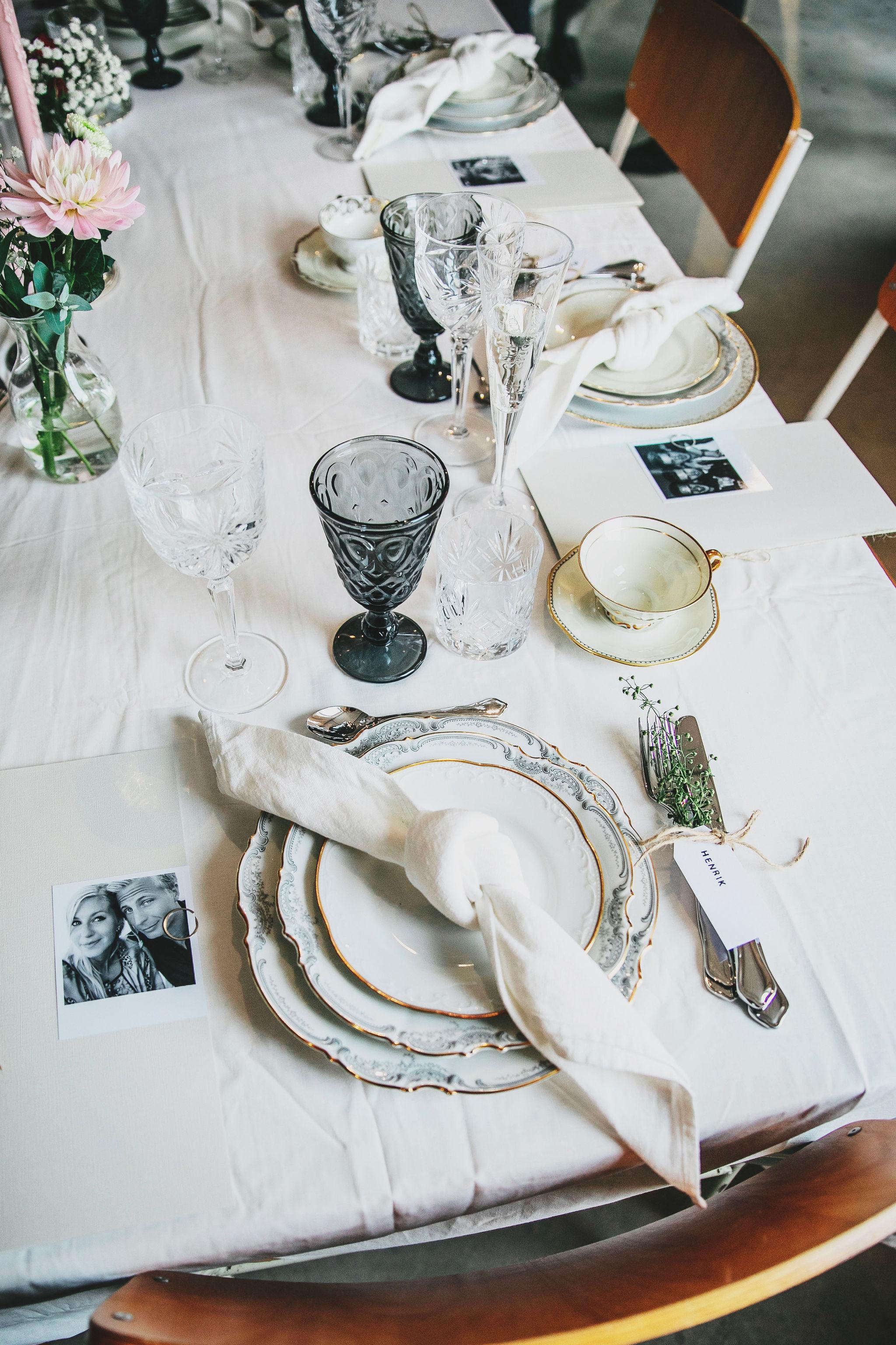 dukning +bröllop