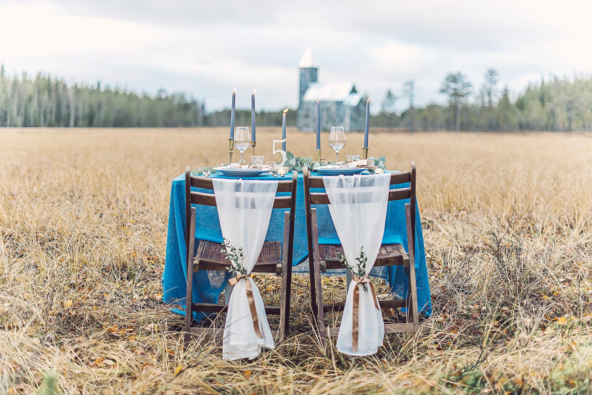 bröllop + dukning