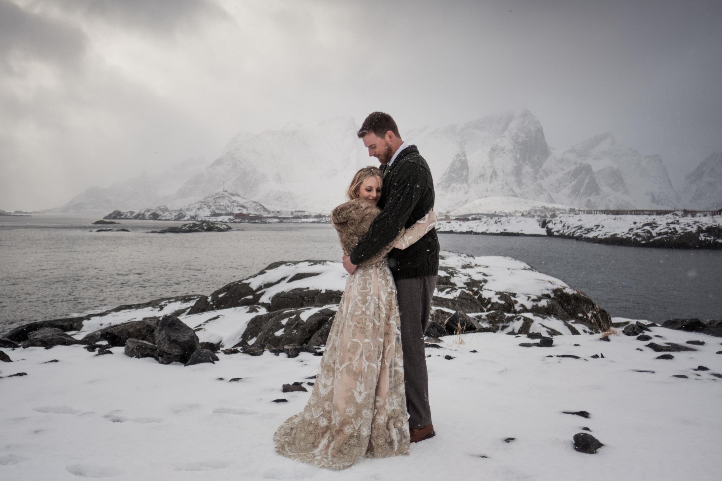 norwegian wedding + elopement in scandinavia