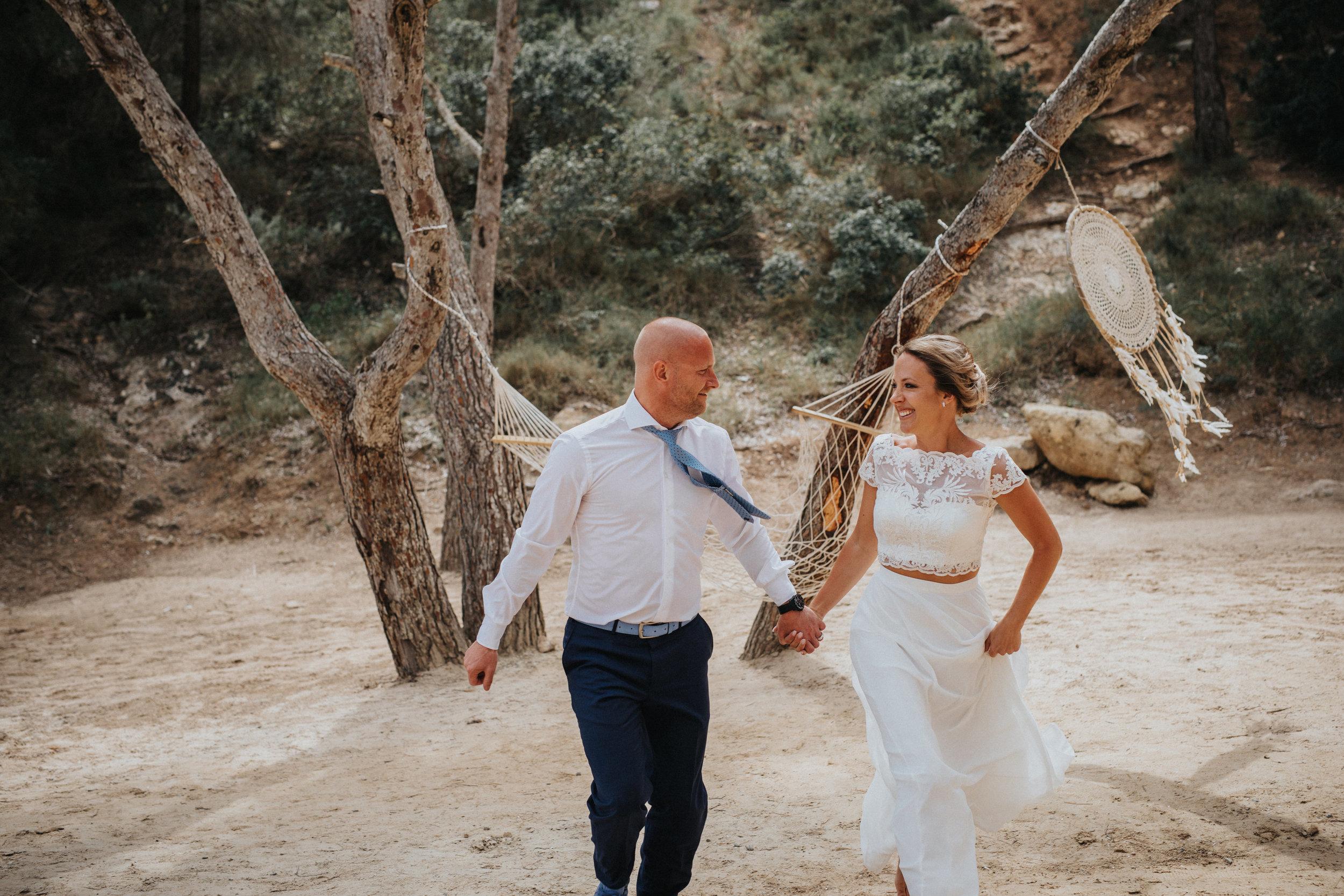 brudpar bröllop fotograf