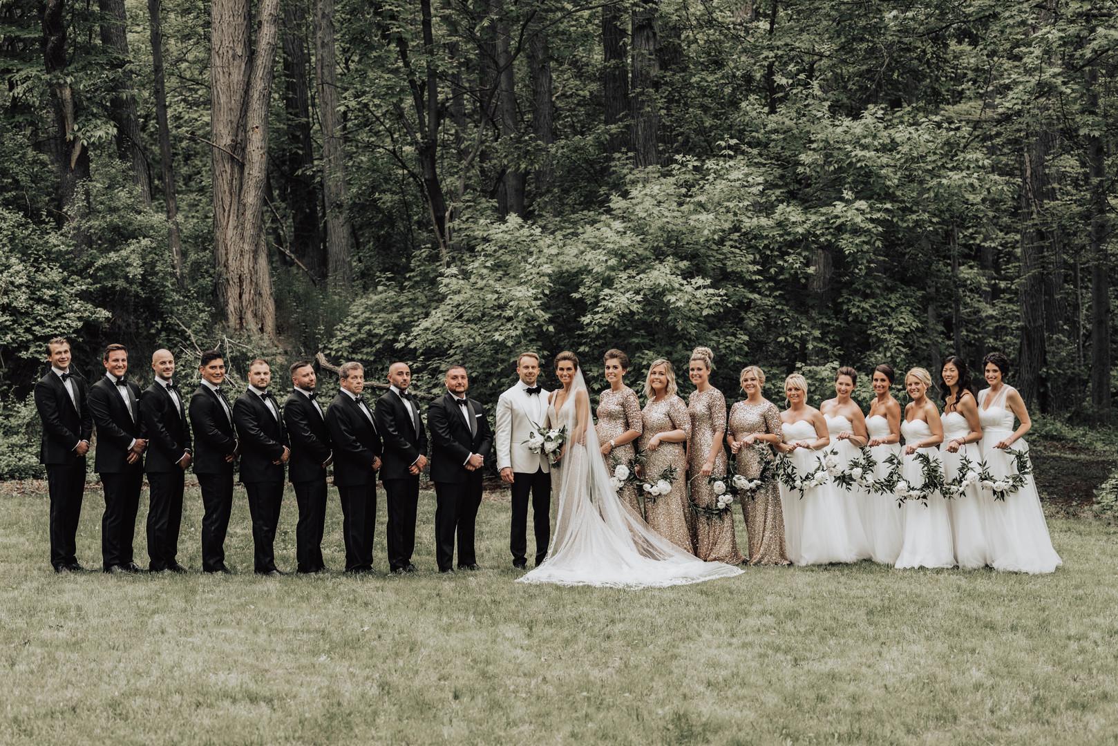 Vårbröllop i ljusa toner