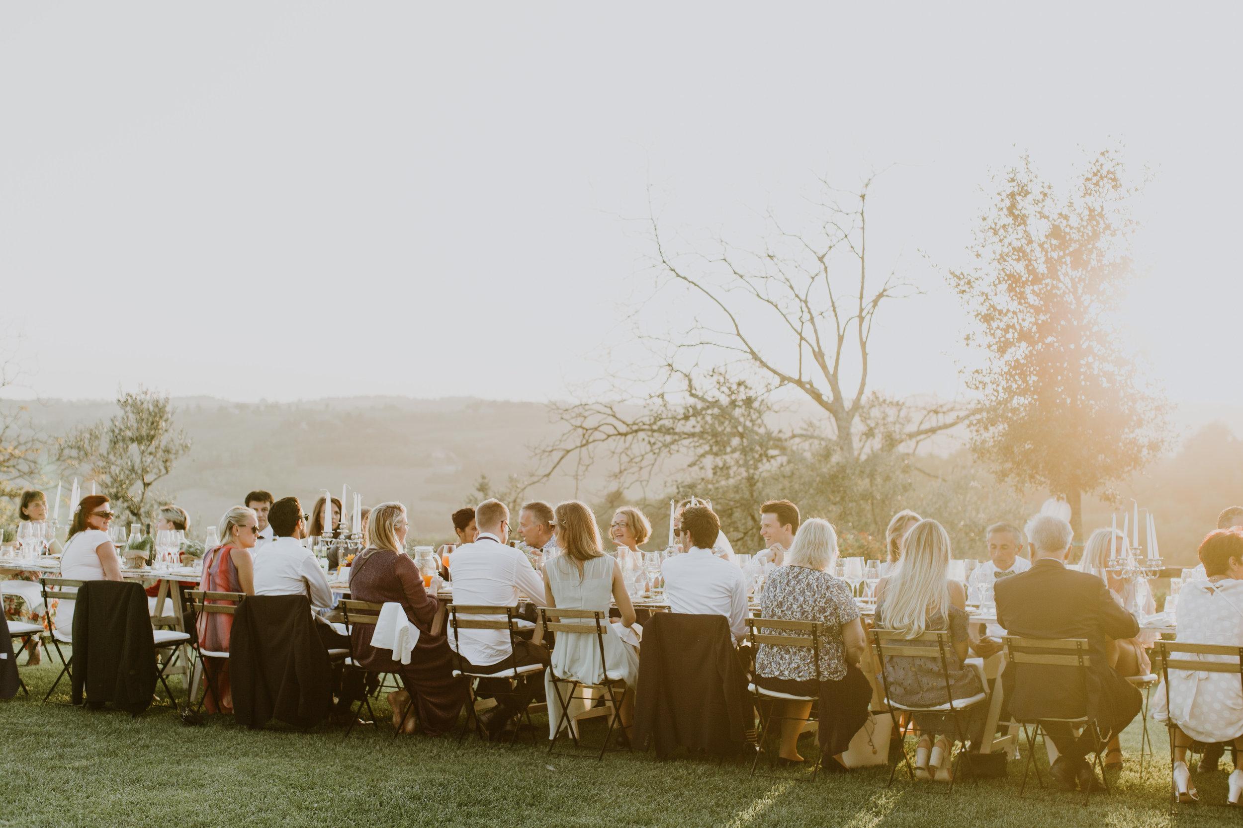 bröllop i toscana Italien