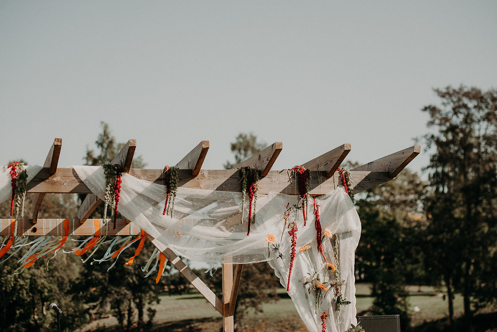 dekorationer bröllop