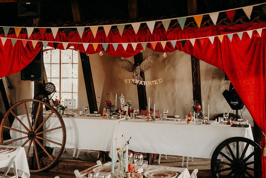 cirkusbröllop