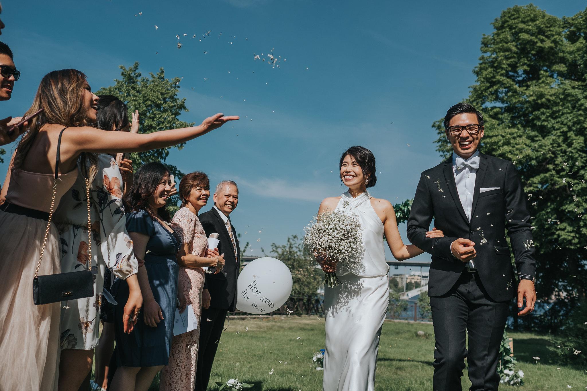 brudpar ceremoni