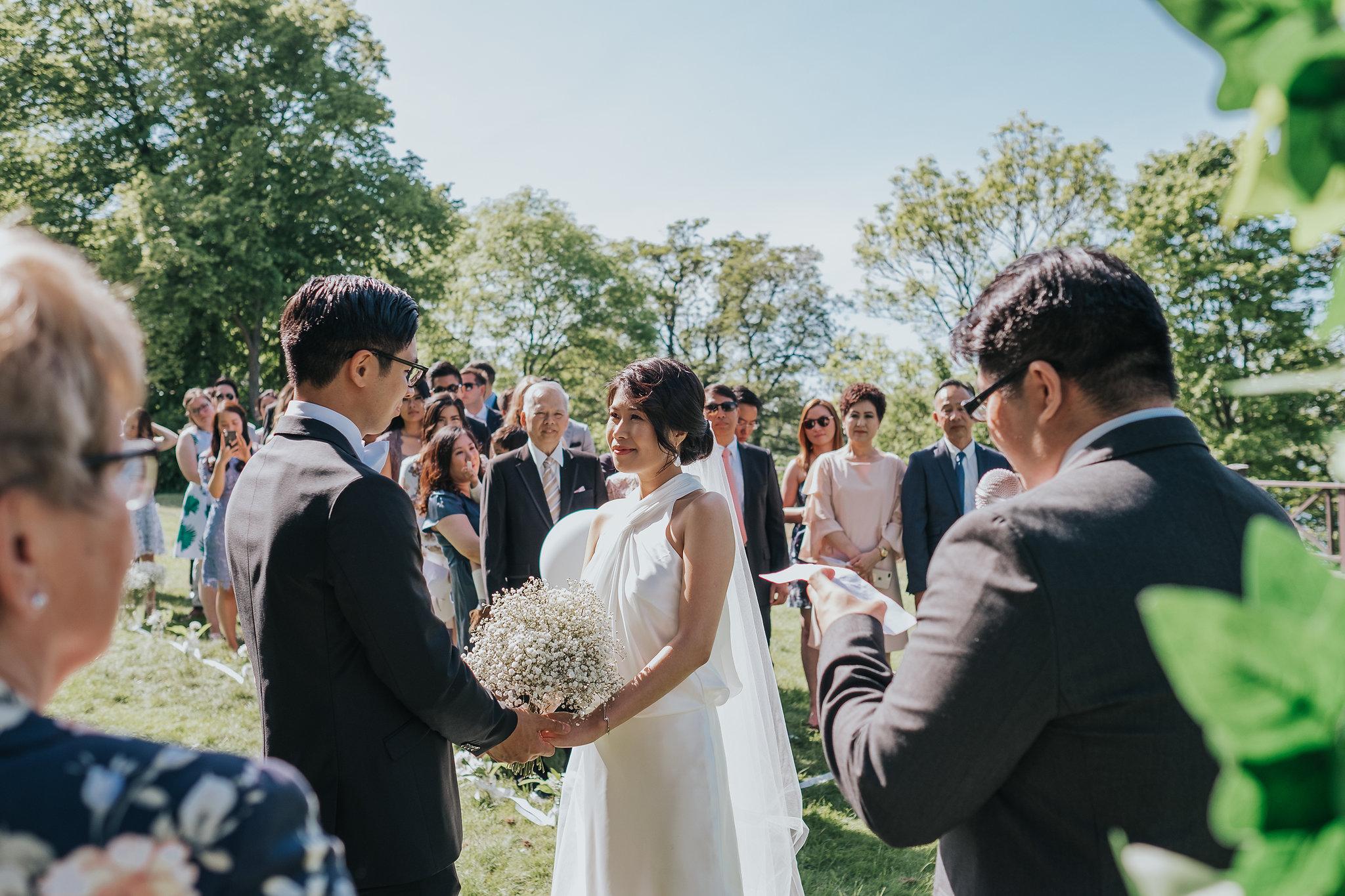ceremoni bröllop