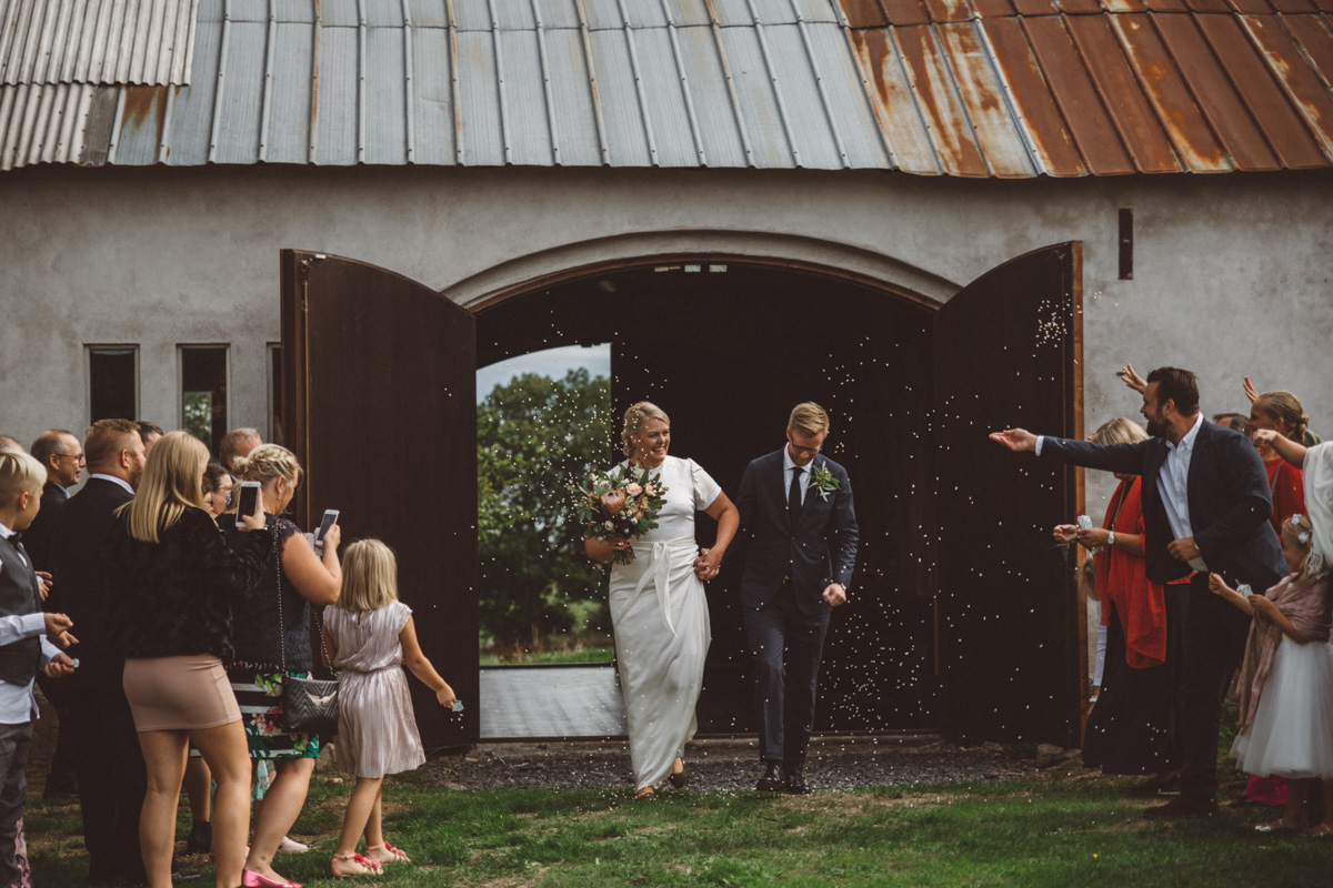 kasta ris bröllop