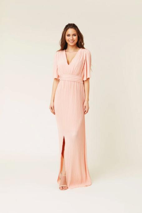 Puderrosa klänning , By Malina