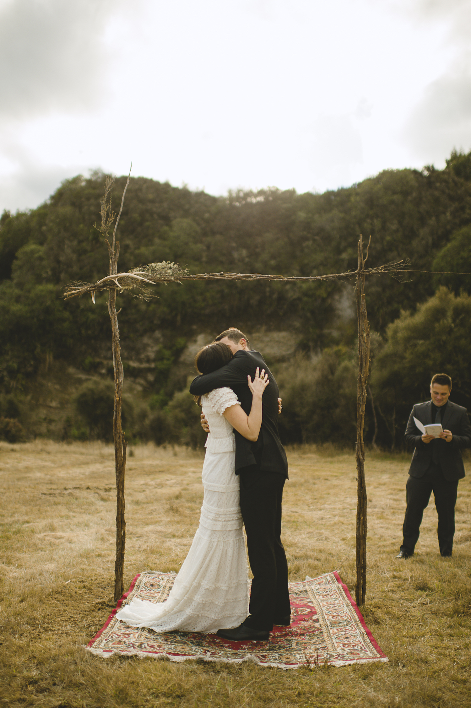 outdoor ceremony wedding