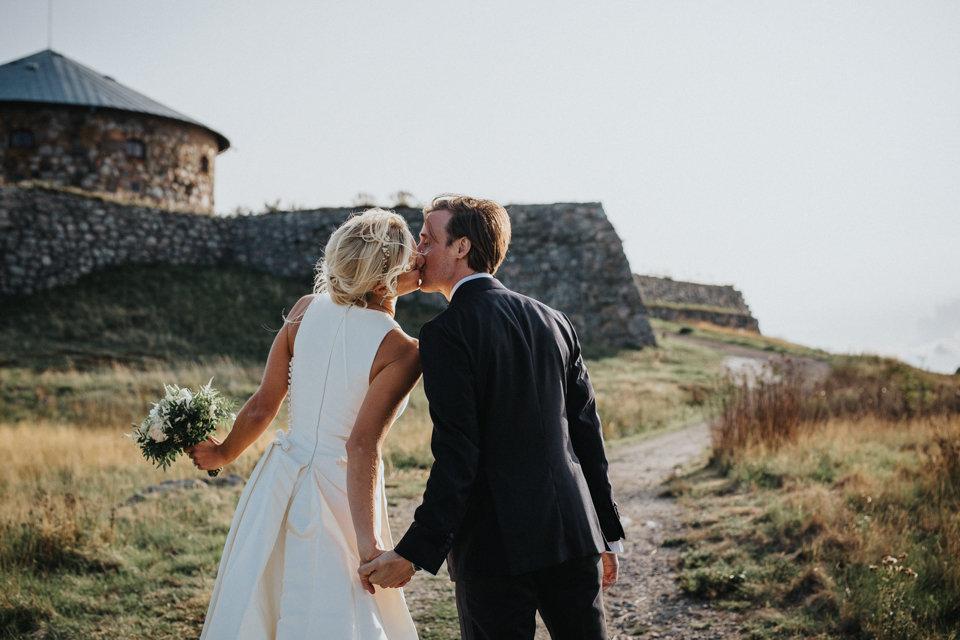 brudpar bröllopsblogg