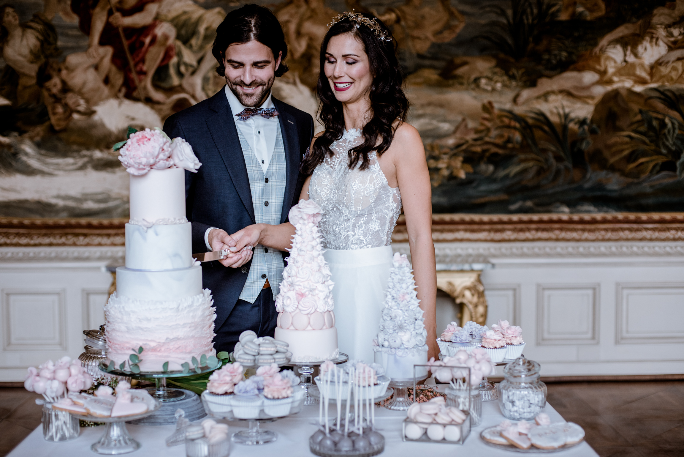 bröllopsblogg+romantiskt+inspiration+tårta