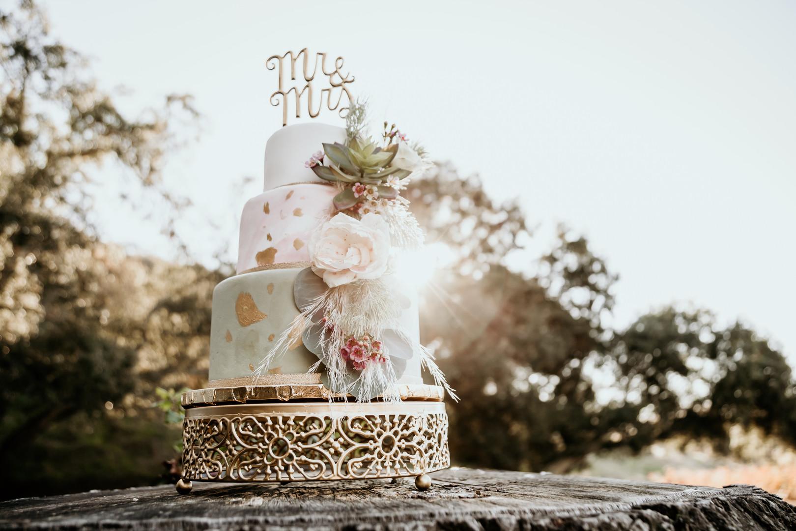 bröllopsblogg+tårta+boho