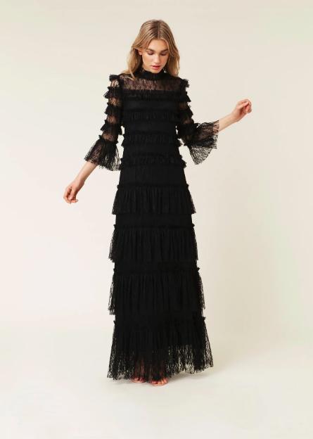 Svart långklänning , By Malina