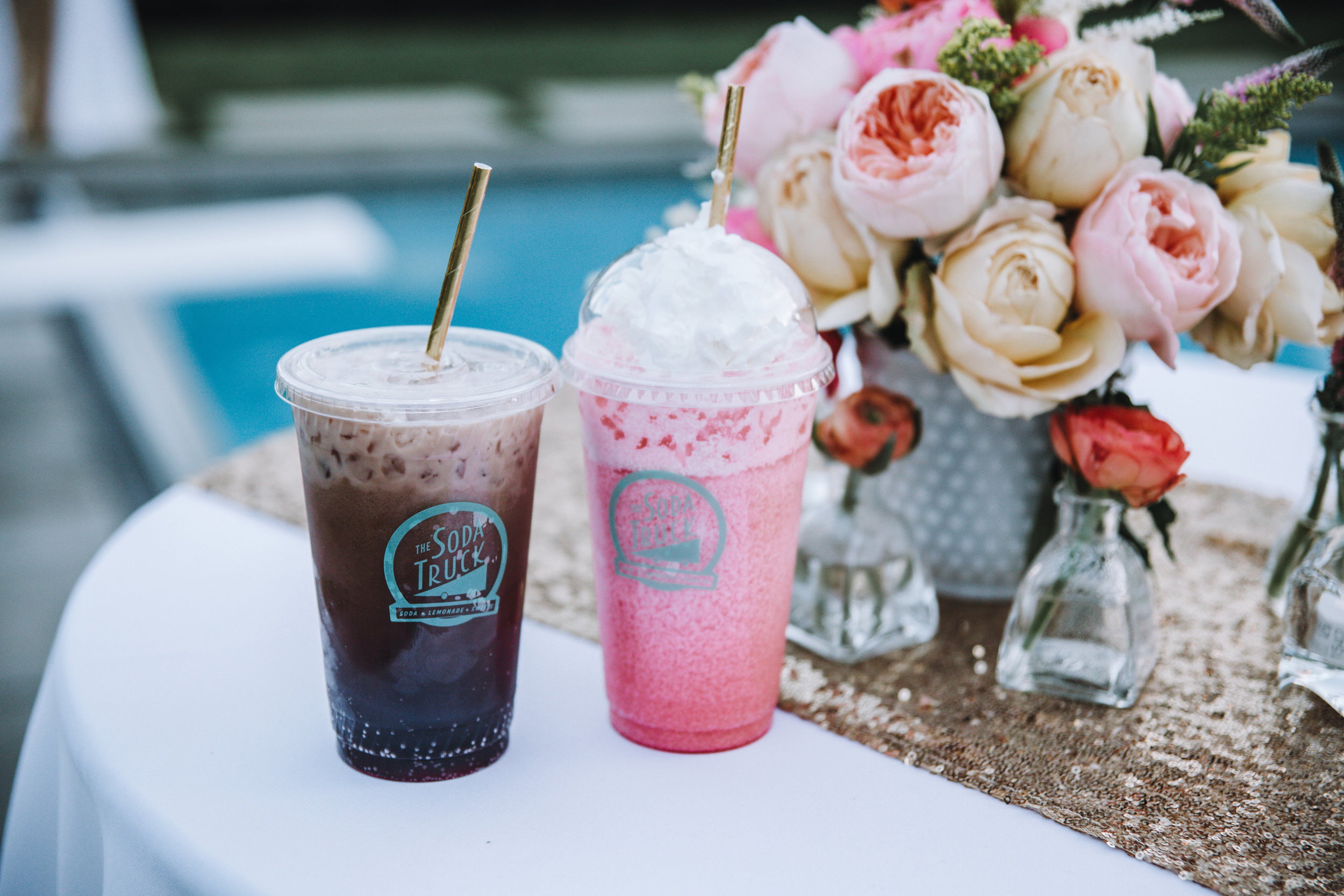milk shakes weddings
