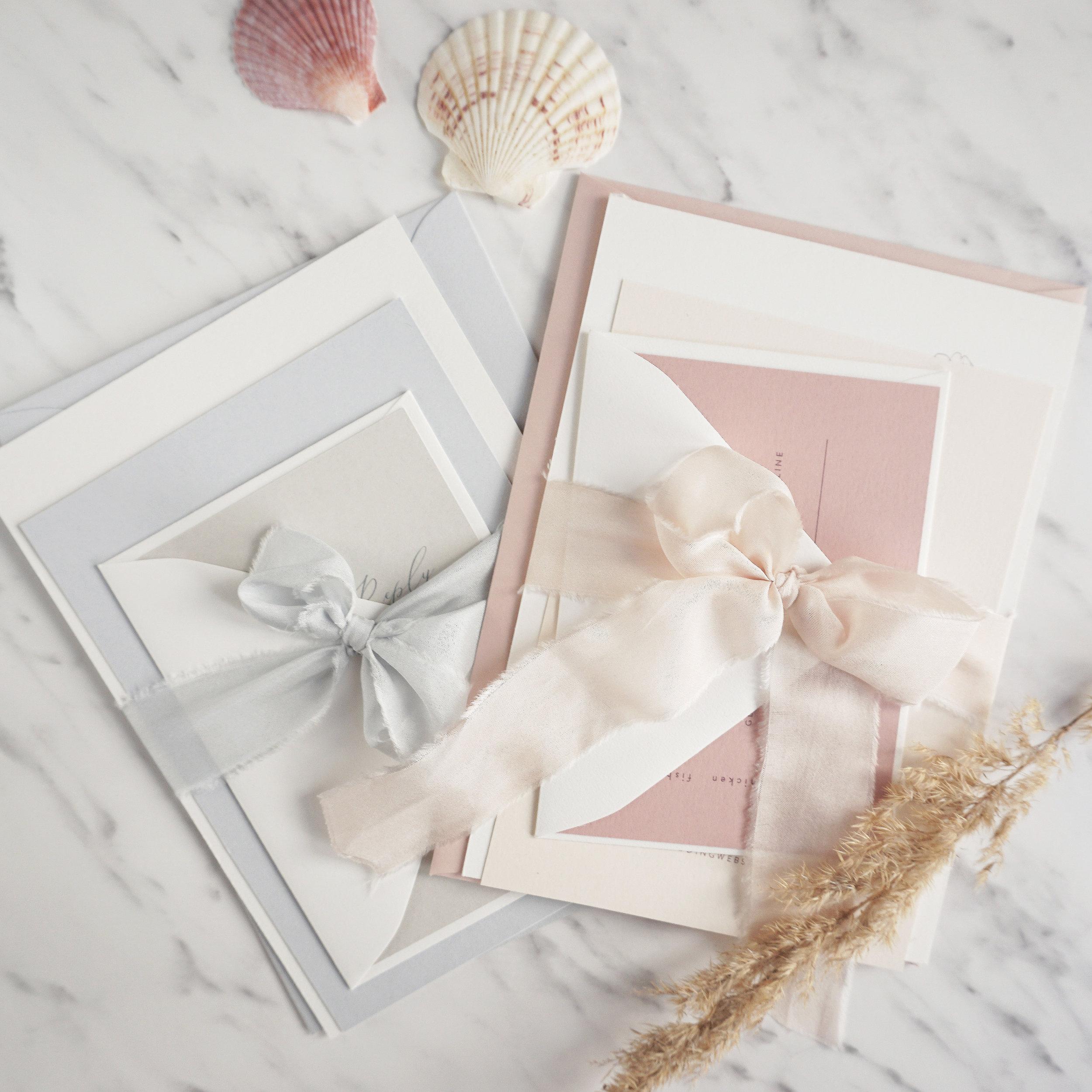 By Stina Design - Trycksaker till bröllopet