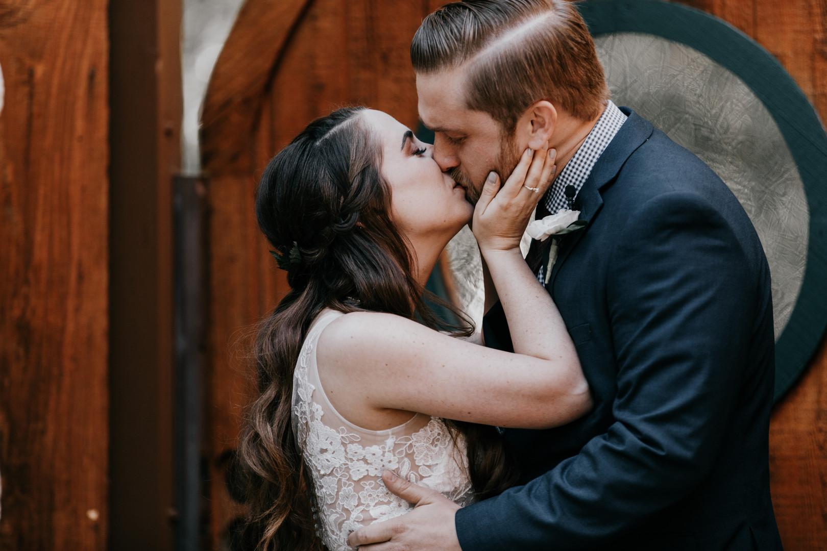 Emotional First look wedding blog