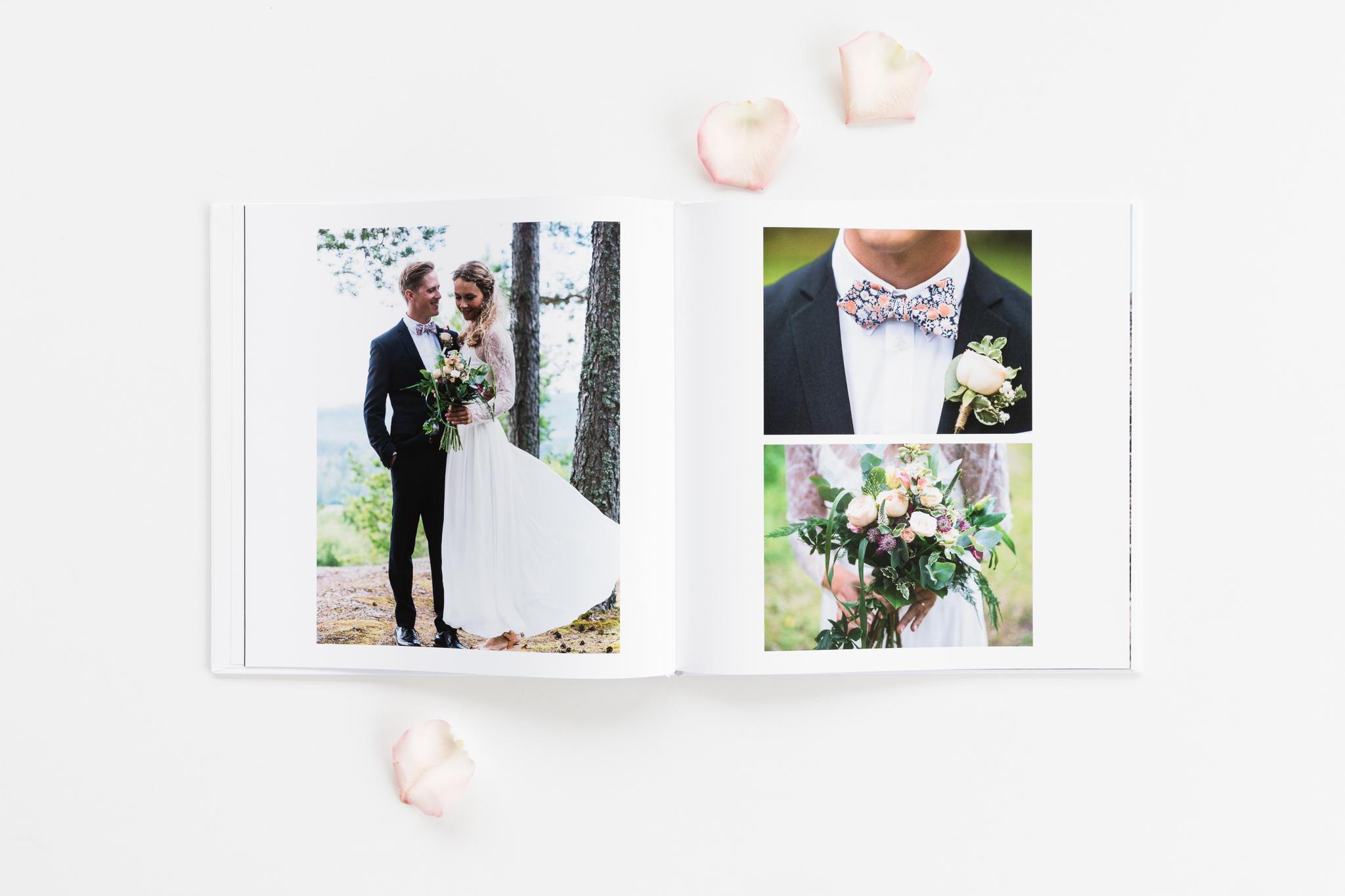 Fotobok App Bröllop Once Upon