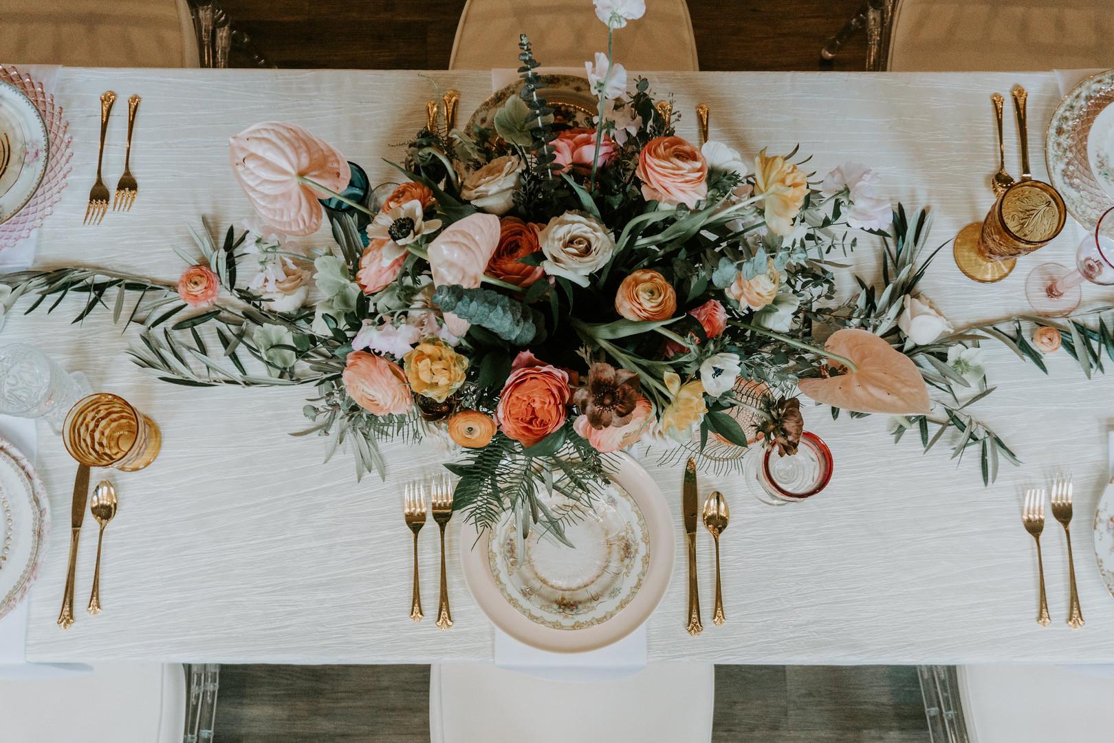 bröllop+boho+elopement+dukning