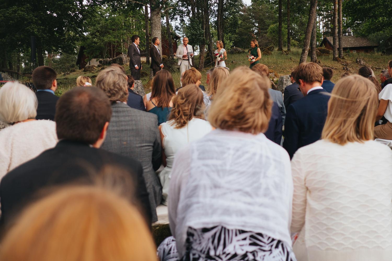 Bröllop i skogsdunge