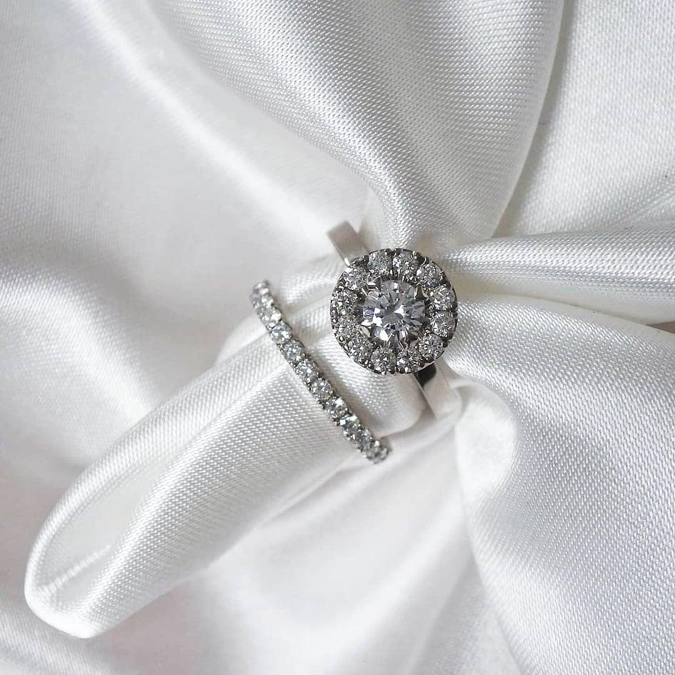Kundens två nya ringar!
