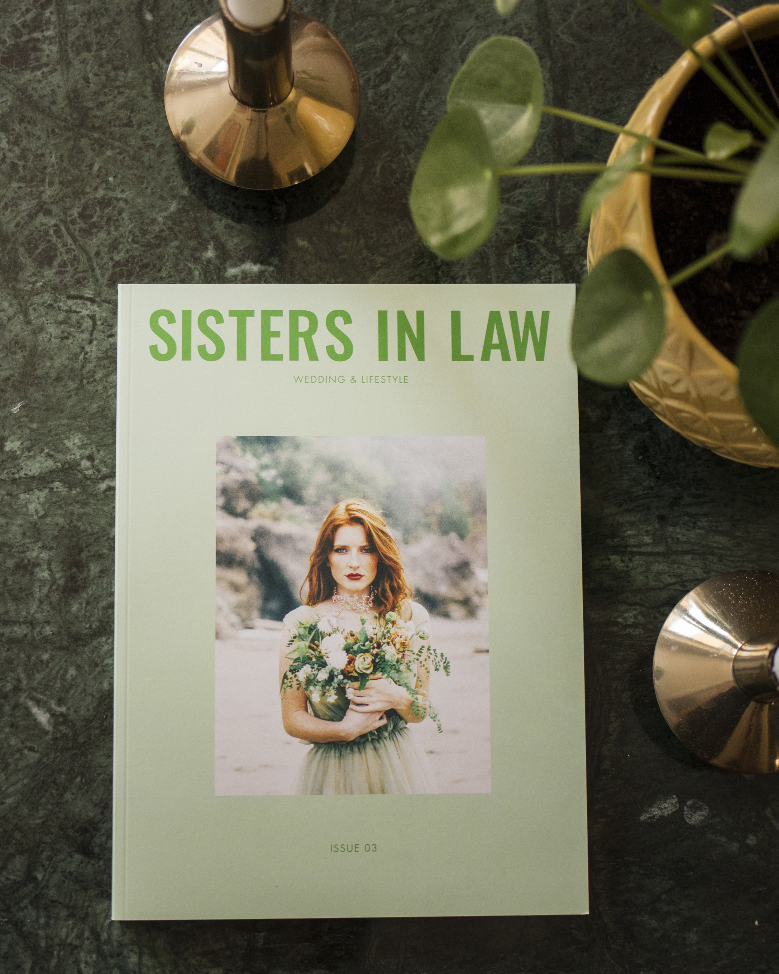 Sisters in Law Magazine Bröllopsmagasin