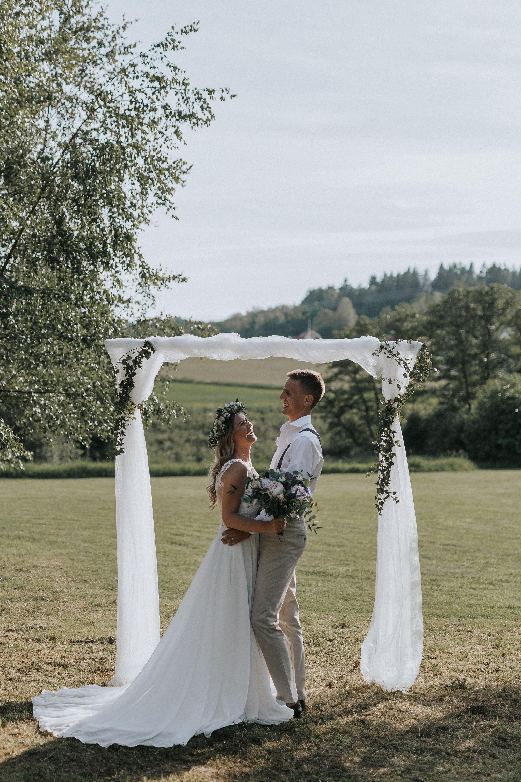 Bröllopsblogg + Vigselbåge