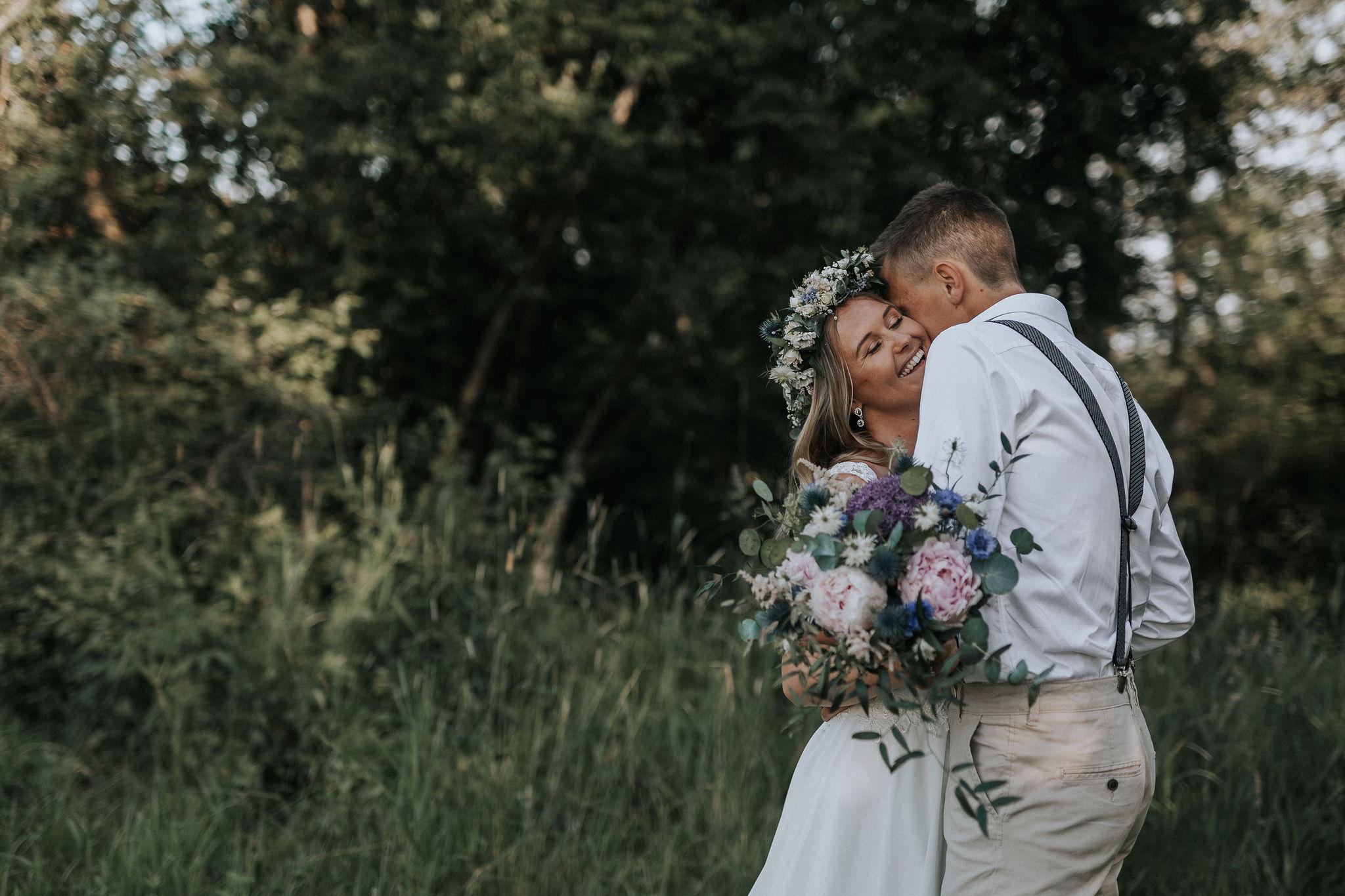 Bröllopsblogg + Brudbukett