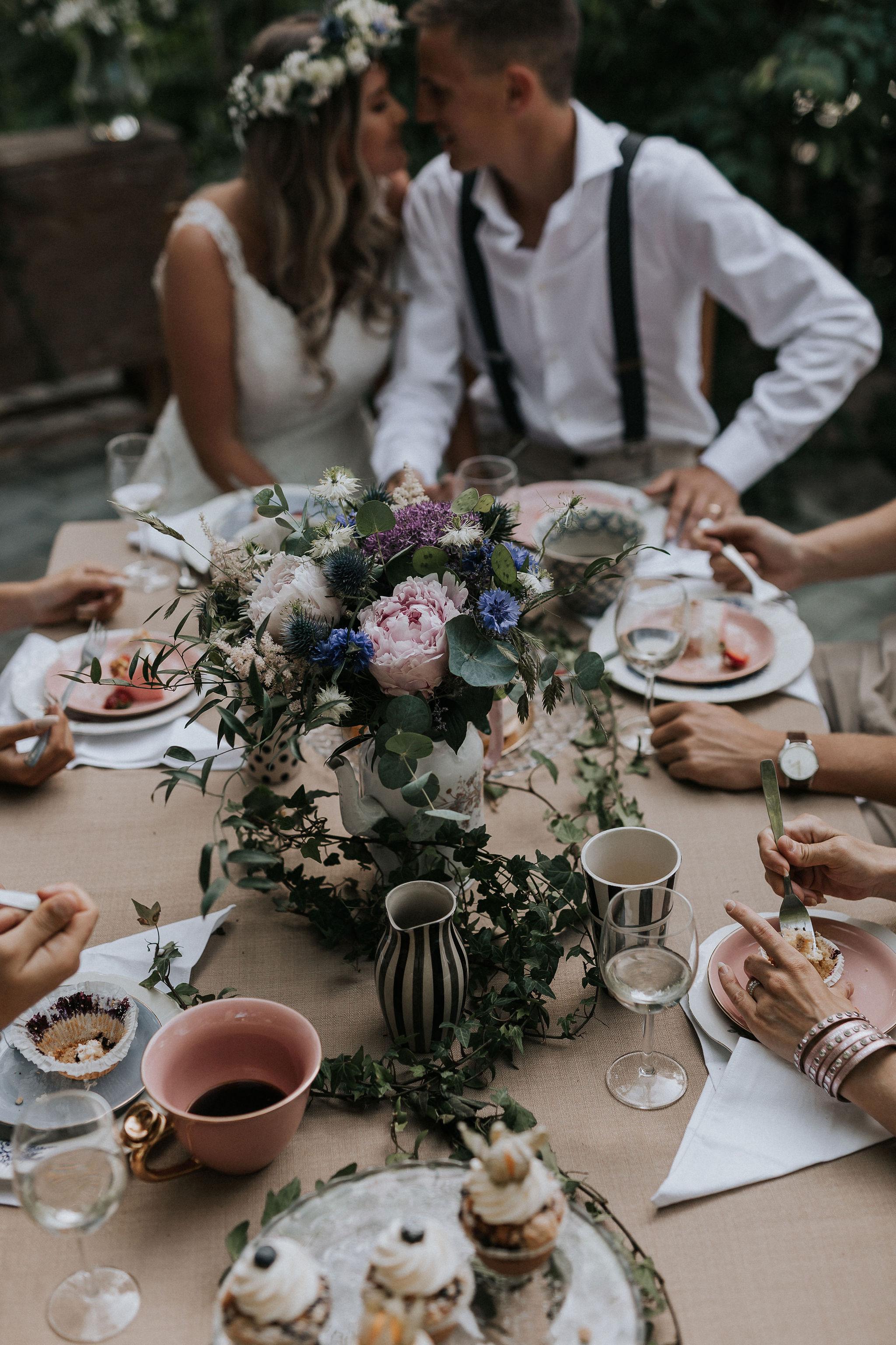 Bröllopsblogg trädgårdsbröllop