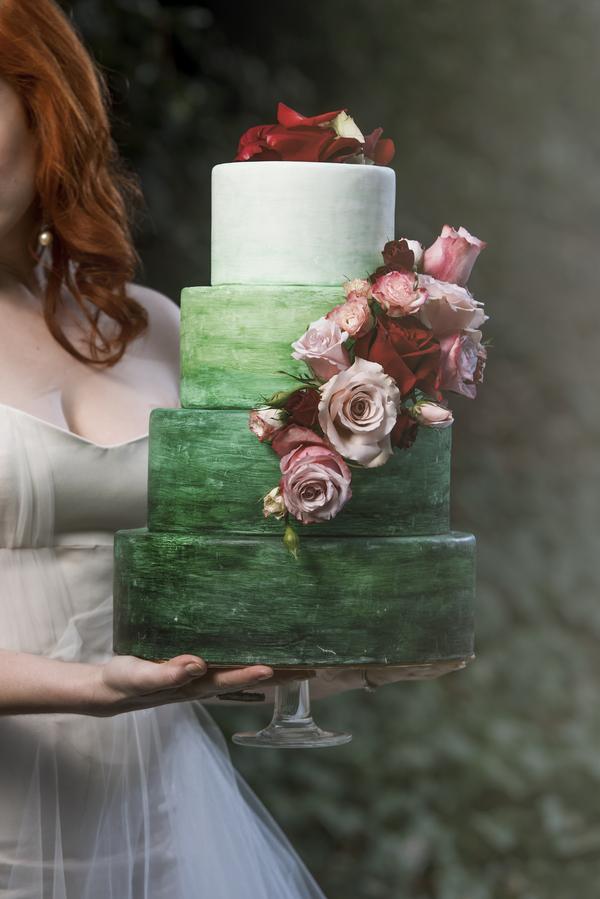 Fotograf:  Nieto Photography . Tårta:  Confectionate Cakes