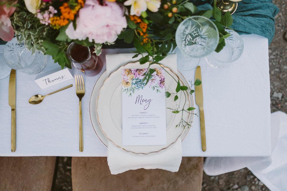 Märkbara bröllop & tillfällen - Bröllopskoordinator och dekoratör