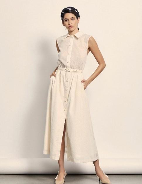 Creme dress , Seezona