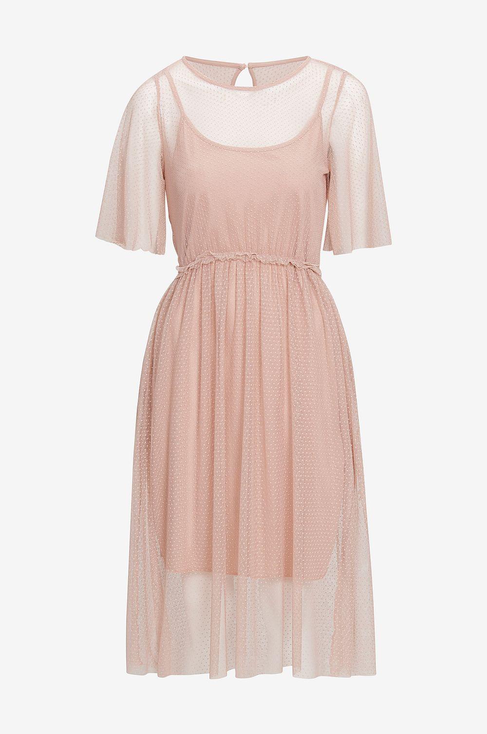 Pink dress , Ellos